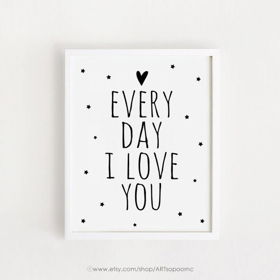Printable anniversary card every day i love you just a little bit.