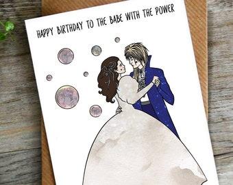 Funny Labyrinth Birthday Card LCHMORGAN