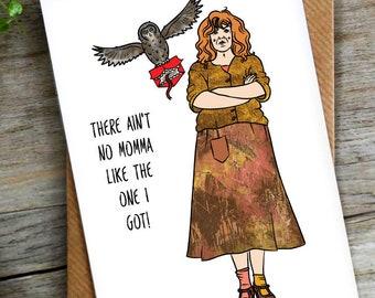 Funny Potter Pun Birthday Mothers day Card   LCHMORGAN
