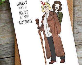 Funny Potter Pun Birthday Card   LCHMORGAN