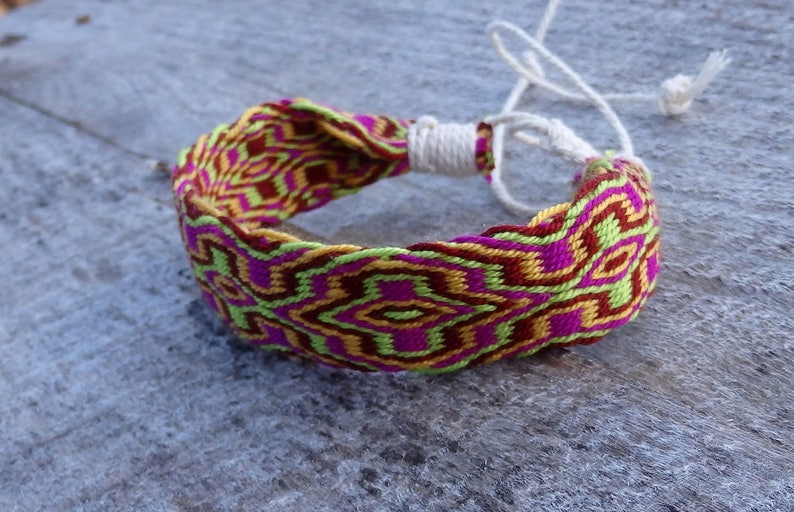 card weave hipster arm band cotton ethnic wrist band woven men braclet boho bracalet native jewelry table weaving colorful bracelet