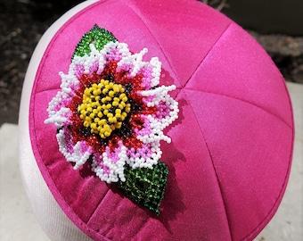 Woman's Pink Kippot