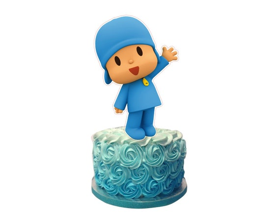 Admirable Pocoyo Cake Topper Pocoyo Cake Decor Etsy Funny Birthday Cards Online Elaedamsfinfo