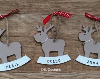 Reindeer tree decoration, Christmas decoration, Tree decoration, Reindeer, Christmas
