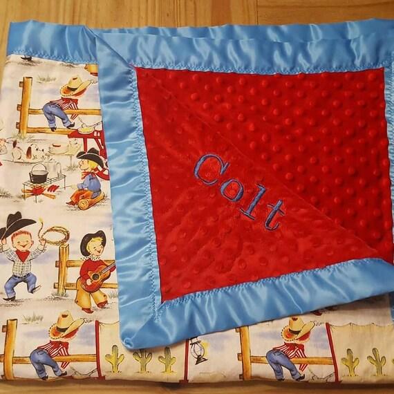 Flannel Baby Blanket Aztec Horse Baby Blanket Baby Gift Baby Blanket Baby Shower Gift Newborn Baby Blanket Minky Baby Blanket