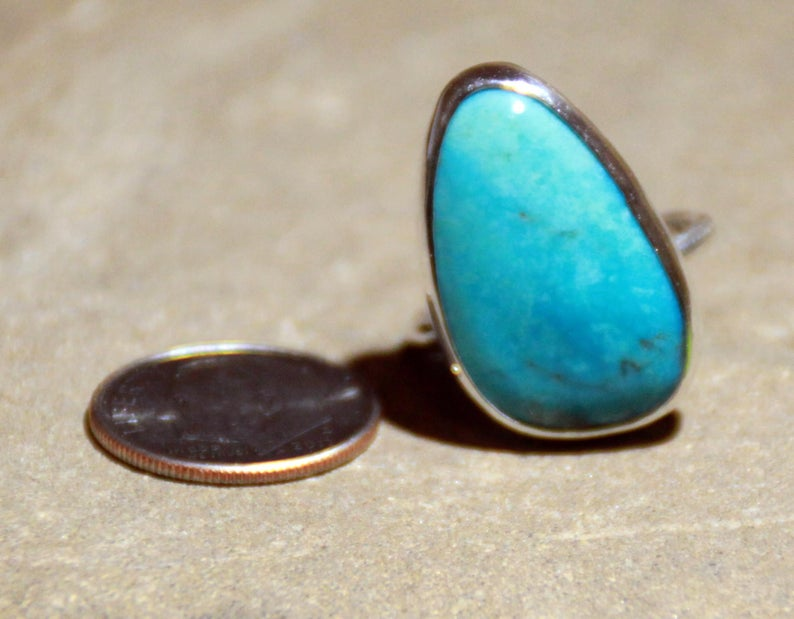 One Of A Kind Turquoise Ring