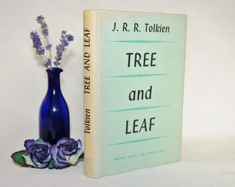 FIRST EDITION Tree and Leaf by JRR Tolkien / 1964 George Allen & Unwin Ltd / Scarce 1st Ed., 1st Impression / With Dust Jacket