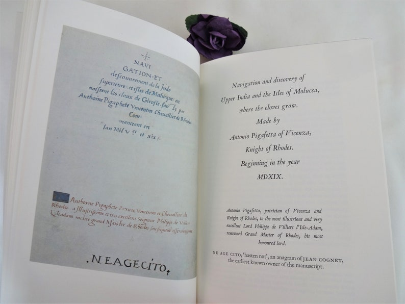 Magellan's Voyage A Narrative Account of the First Navigation / 1977, The  Folio Society of London / Beautifully Presented / Illustrated