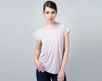 Silver Top, Sparkly Gray Top, Disco Tank Top, Sparkle Top, Glitter Top, Shiny Top, Glitter Shirt, Evening Top, Metallic Top, Evening Blouse