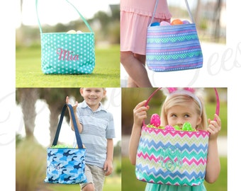 Cute Personalized Easter Bucket / Basket for Kids - 4 Styles to Choose From (Children, Toddler, Monogrammed)