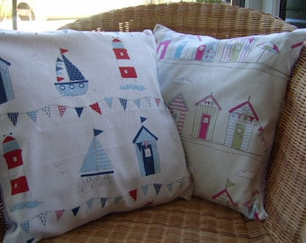 Seaside / Holiday Theme Cushion Covers