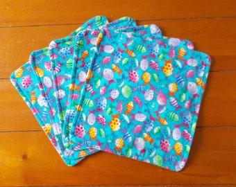 Baby Washcloths (set of 5)   Fish