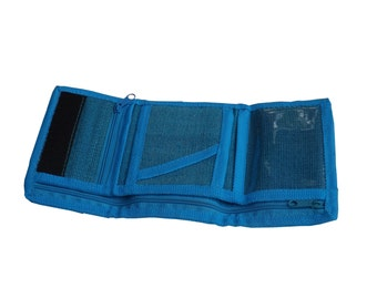 Men's 7-Pocket Natural-Fiber Abaca Wallet