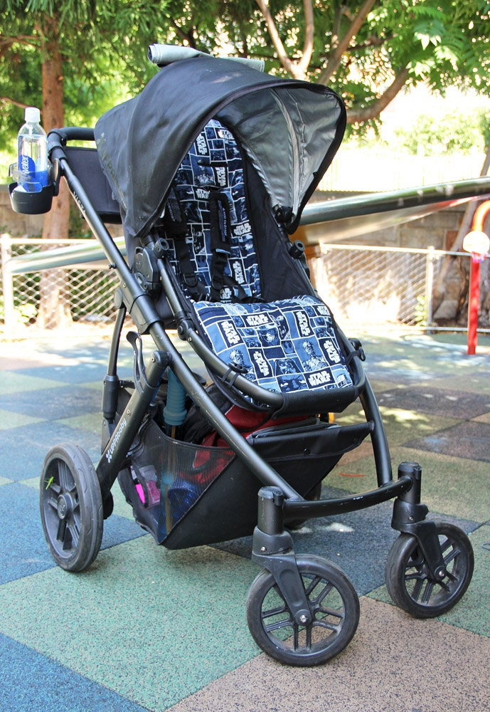 uppababy vista cruz custom cotton stroller pram liner pad in etsy