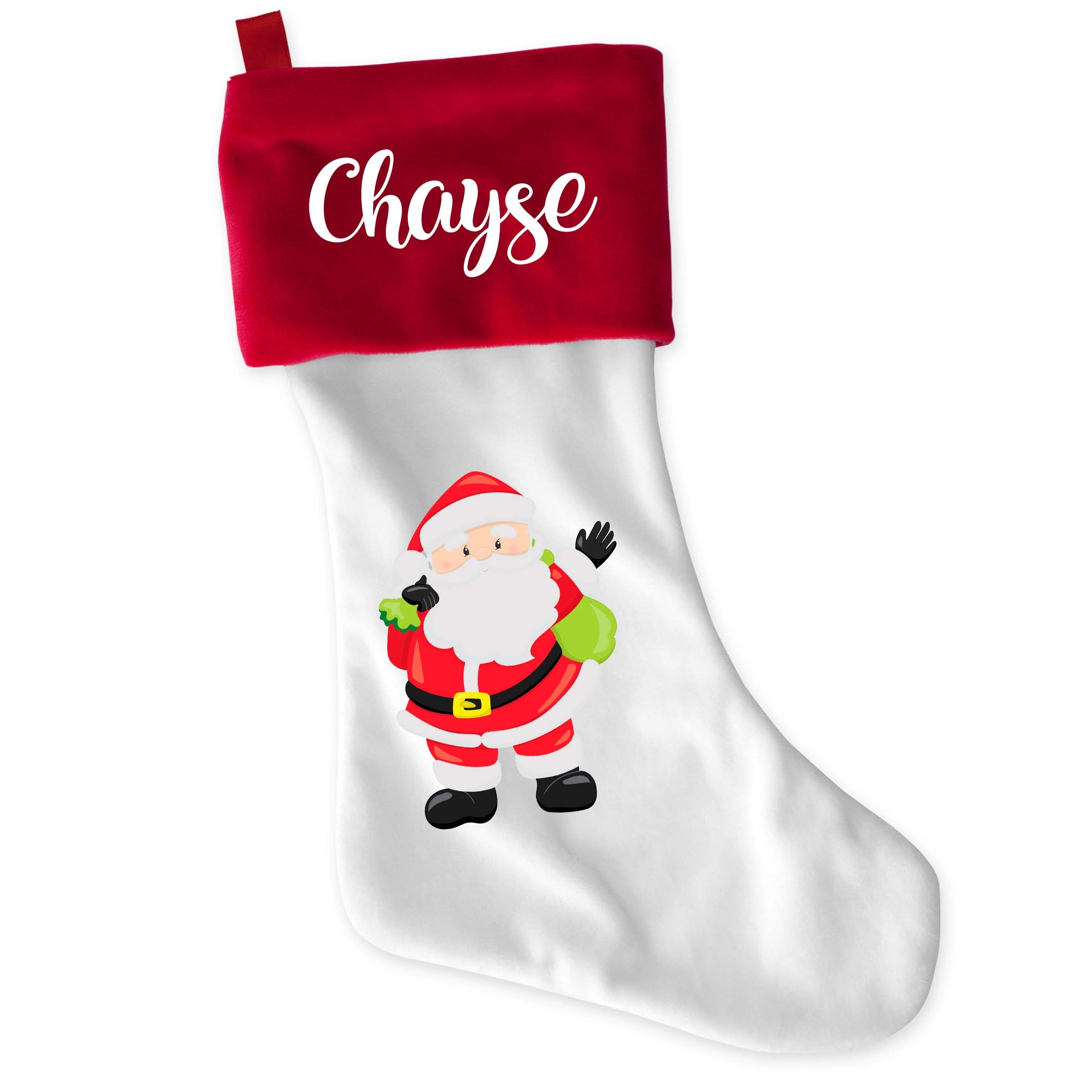 Personalized Christmas Stocking Name Stocking Monogram | Etsy