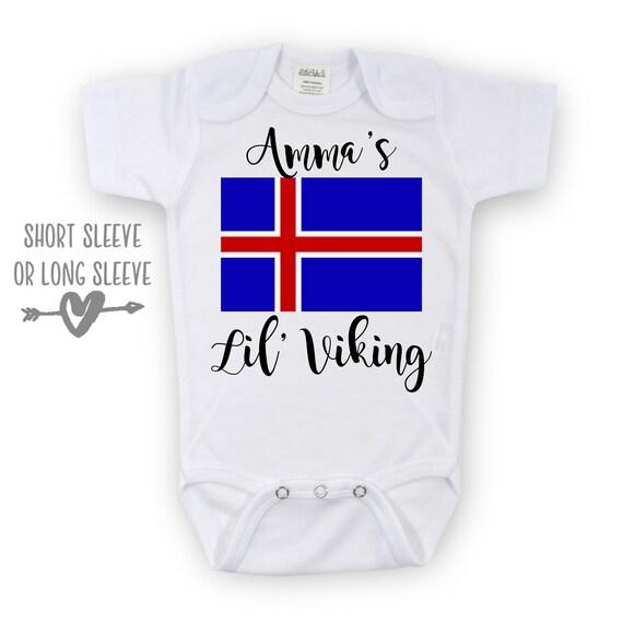 3b9b43308 Amma's Viking Onesie Viking Bodysuit Viking Onesie Lil | Etsy