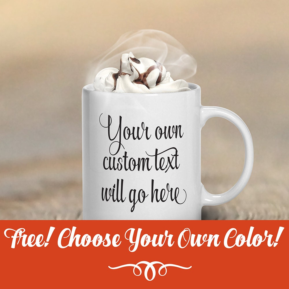 nom de texte personnalis mugs tasses caf tasse caf. Black Bedroom Furniture Sets. Home Design Ideas