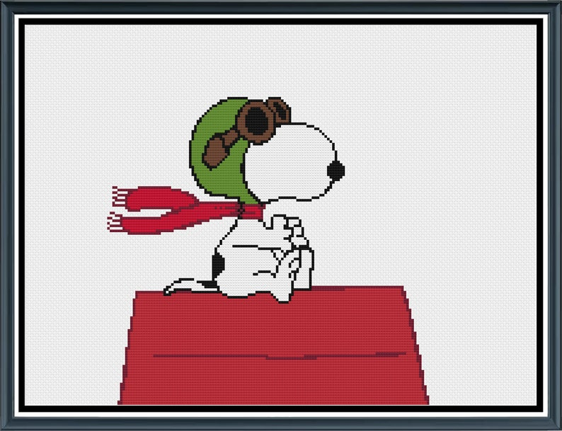 U.S United States Snoopy Red Baron cloth patch