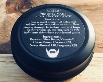 Beard Balm or Oil Sampler in Signature and Lite Version (Choose Scent)