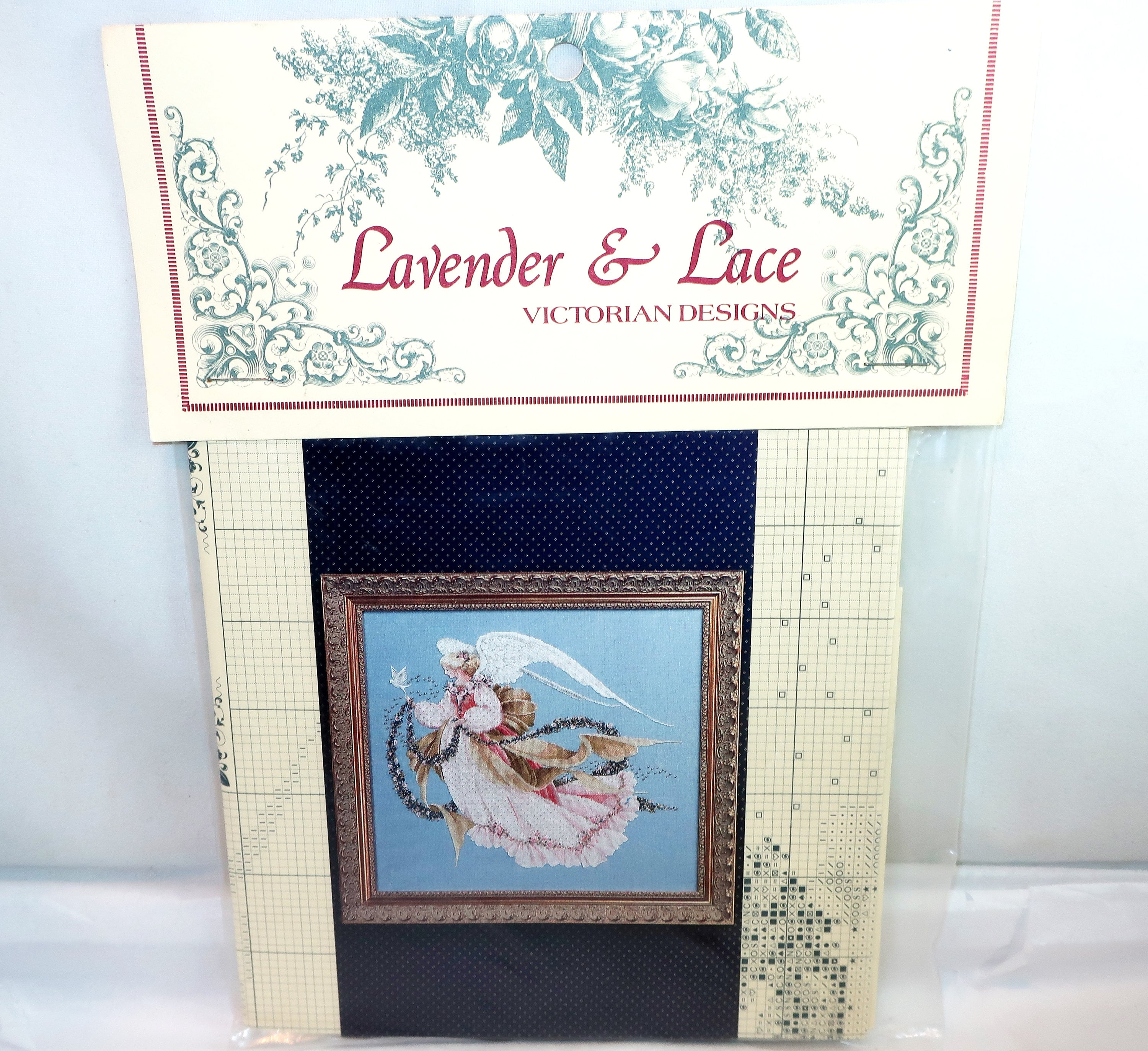 LAVENDER /& LACE Victorian Designs Angels Counted Cross Stitch Pattern You Choose