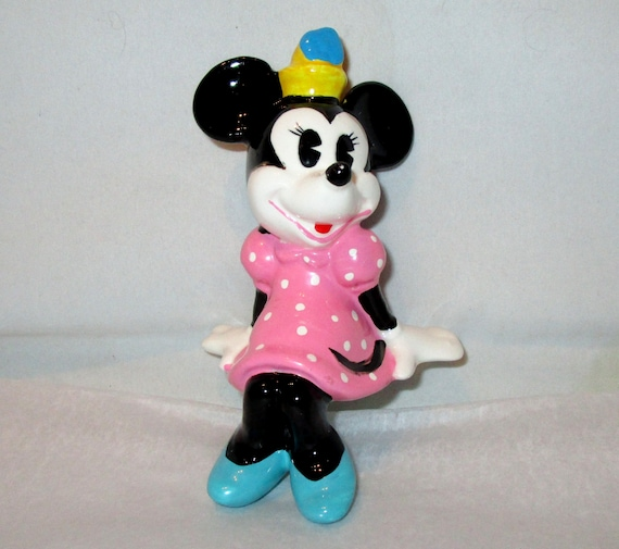 Jahrgang Walt DISNEY Produktionen MINNIE MOUSE Regal Sitter 4,25\