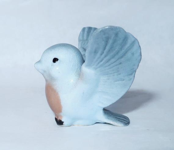 Hagen Renaker Blue Papa Tweetie Bird