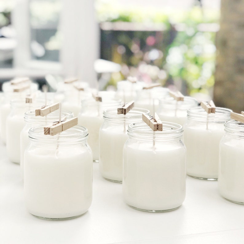 Wedding Gift Lavender Scented Candle \u2014 Hopscotch Candle \u2014 Home Decor Soy Candle \u2014 Perfect Gift for Her Gift for Mum or Thank You Gift