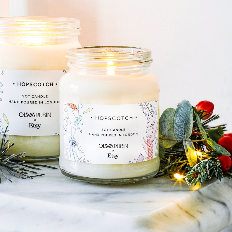 Olivia Rubin x Etsy Gingerbread Scented Jar Candle  Exclusive image 0