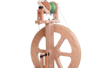 Ashford Kiwi 3 Spinning Wheel - Natural or Lacquered