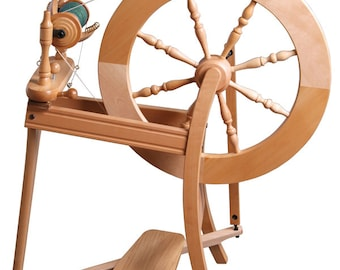 Ashford Traditional Spinning Wheel, Single Drive, Lacquered or Natural Finish