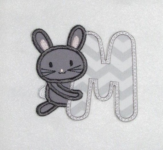 easter egg bunny iron on applique patch image embroidered embellishment