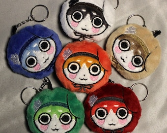 READY TO SHIP Normin Soft Plush Keychain (Choose One)