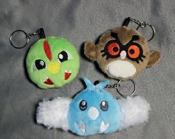 PokeBird Soft Plush Keychain (Choose One) Made to Order