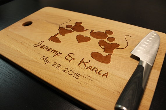 Personalized Disney Wedding Gifts: Let's Engrave