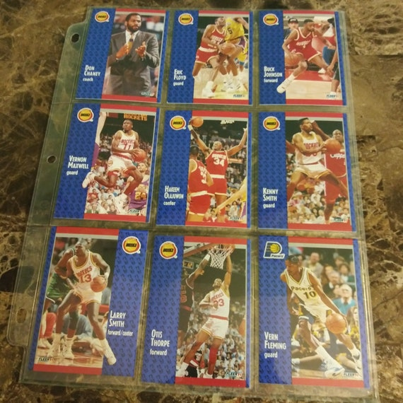 1991 Fleer Vernon Maxwell Houston Rockets 76