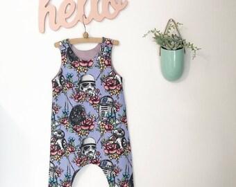 3410c2320af Floral Wars Romper    Disney vacay    Star Wars Baby    Oh Sew Sunshine