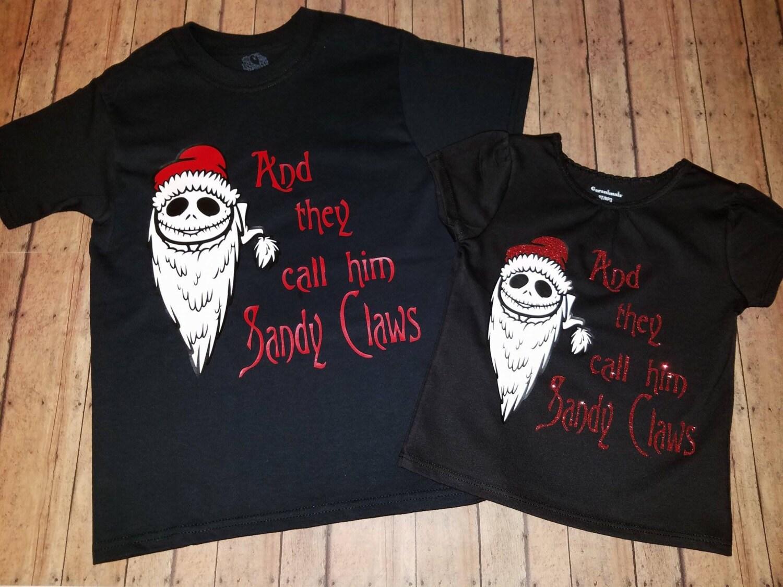 BOYS The Nightmare Before Christmas Shirts / Jack Skellinton | Etsy