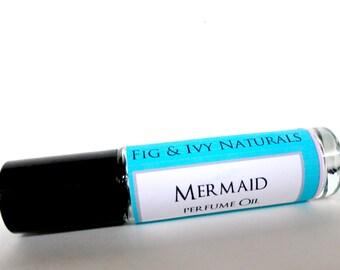 Mermaid Perfume Oil   - Roll On Perfume