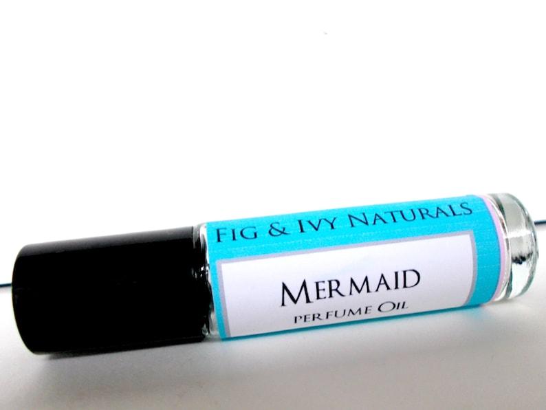 Mermaid Perfume Oil    Roll On Perfume image 0