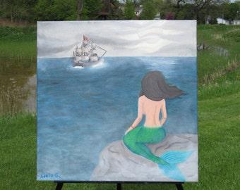 Waiting Mermaid