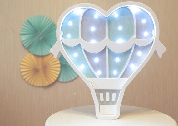 Heißluftballon Lampe Wandkunst Heißluft-Ballon-Nachtlicht