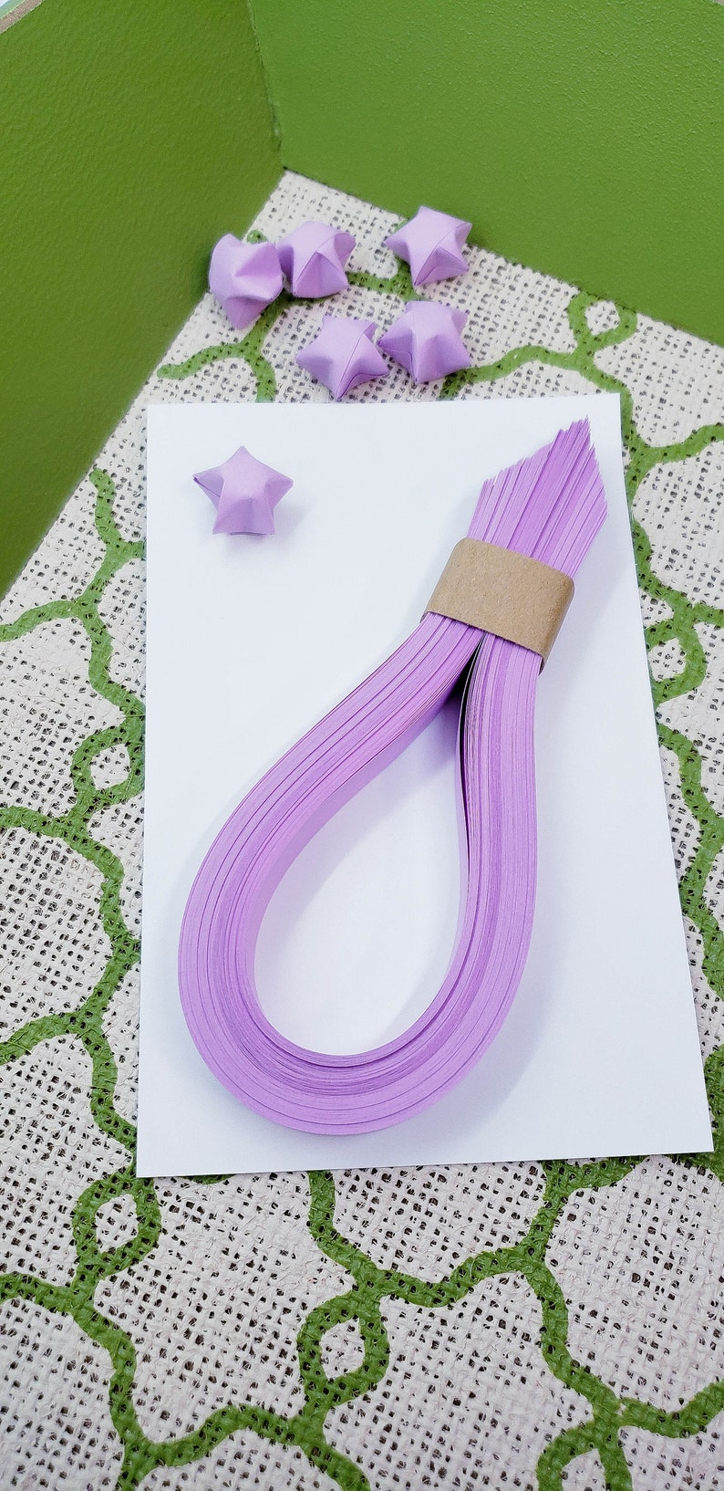 Colorful Origami Lucky Star Paper Strips Folding Paper Ribbons ... | 1634x794