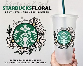 Starbucks Decals Etsy