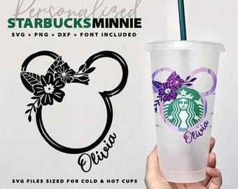 Disney Starbucks Svg Etsy