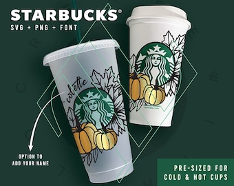 Starbucks Cup Svg Etsy