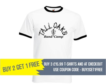 68024ace Tall Oaks Band Camp, American Pie, Men's Ringer T-Shirt, Buy 2 Get 1 Free,  Halloween, Halloween Costume, Costume, Party, Gifts, NEW