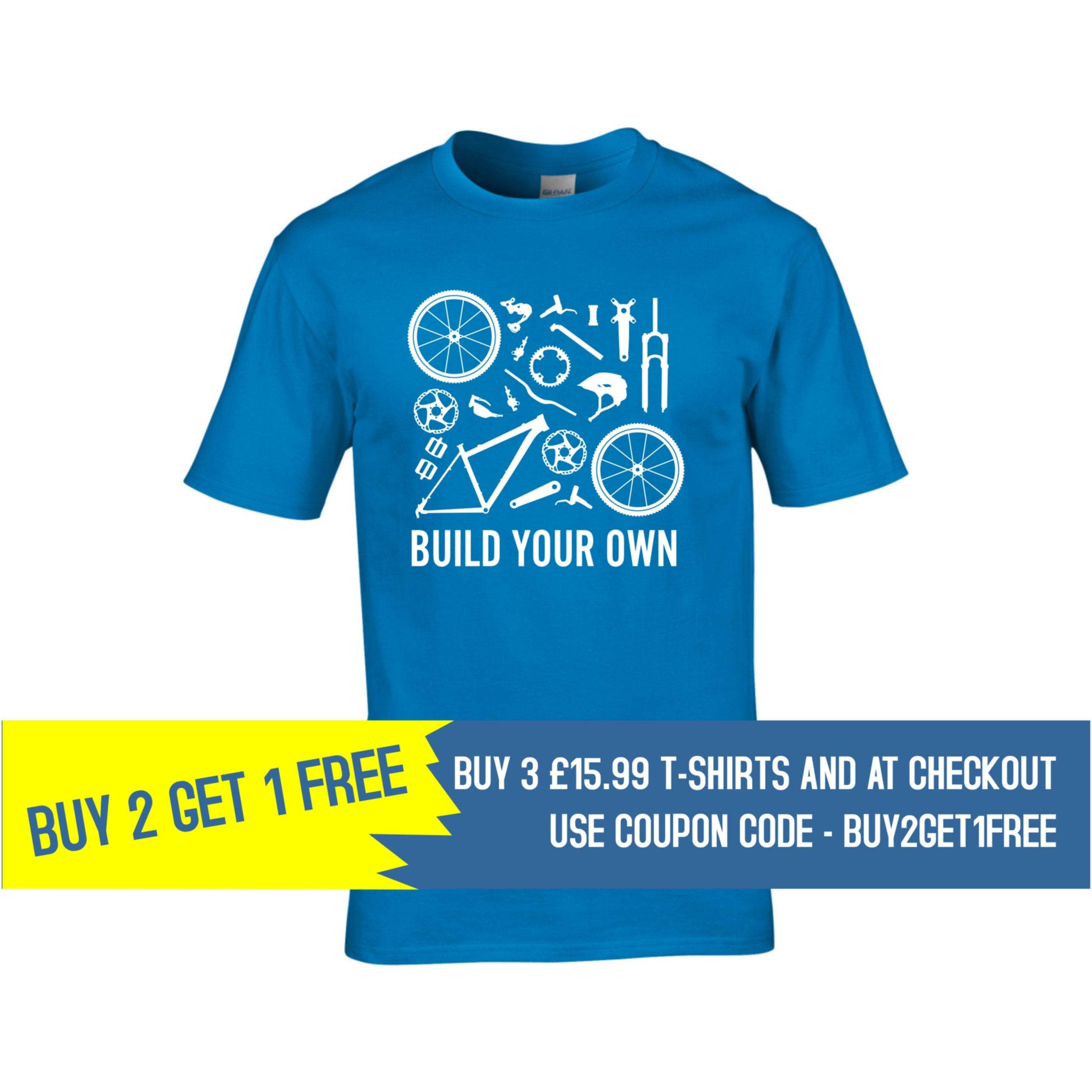 8f3a4583 Men's cycling t shirt, Cycling gifts, Bicycle parts t shirt, Buy 2 Get 1  Free ...