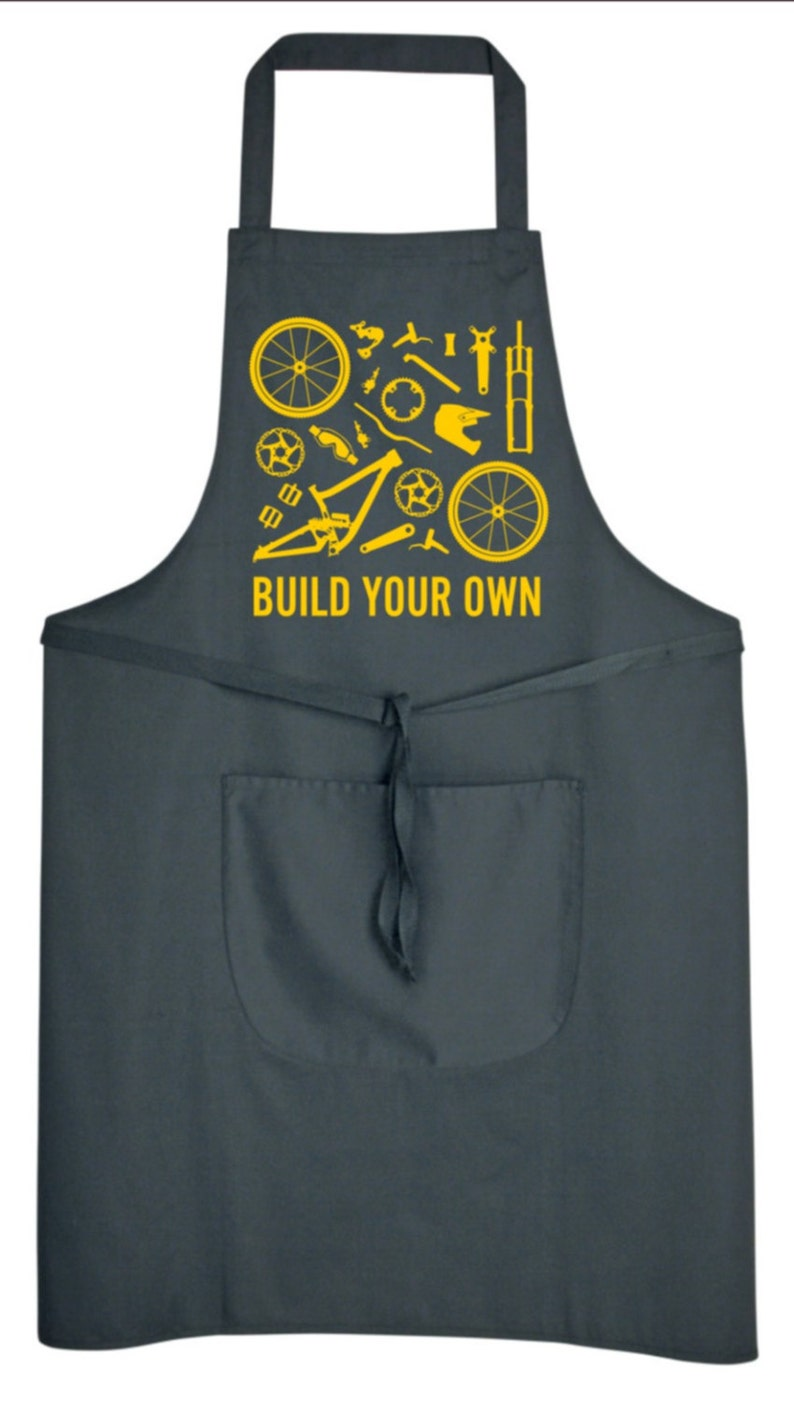 New Birthday Cycling Mothers Day Cycling Gifts Gift for him Apron Mens Apron Womens Fathers Day Womens Apron Gift for her Mens