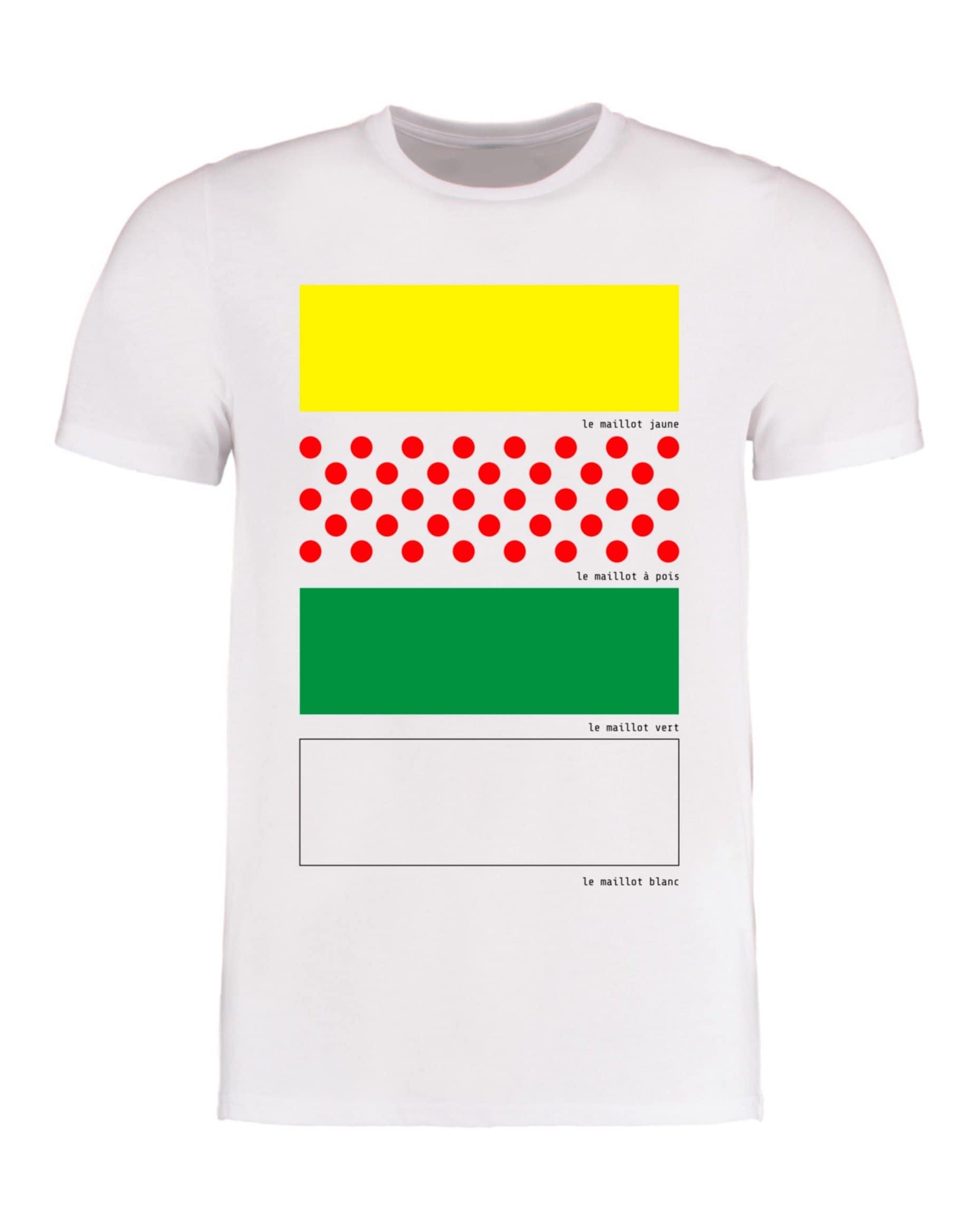 Tour De France Jerseys T Shirt Mens Cycling T Shirt Sublimation T