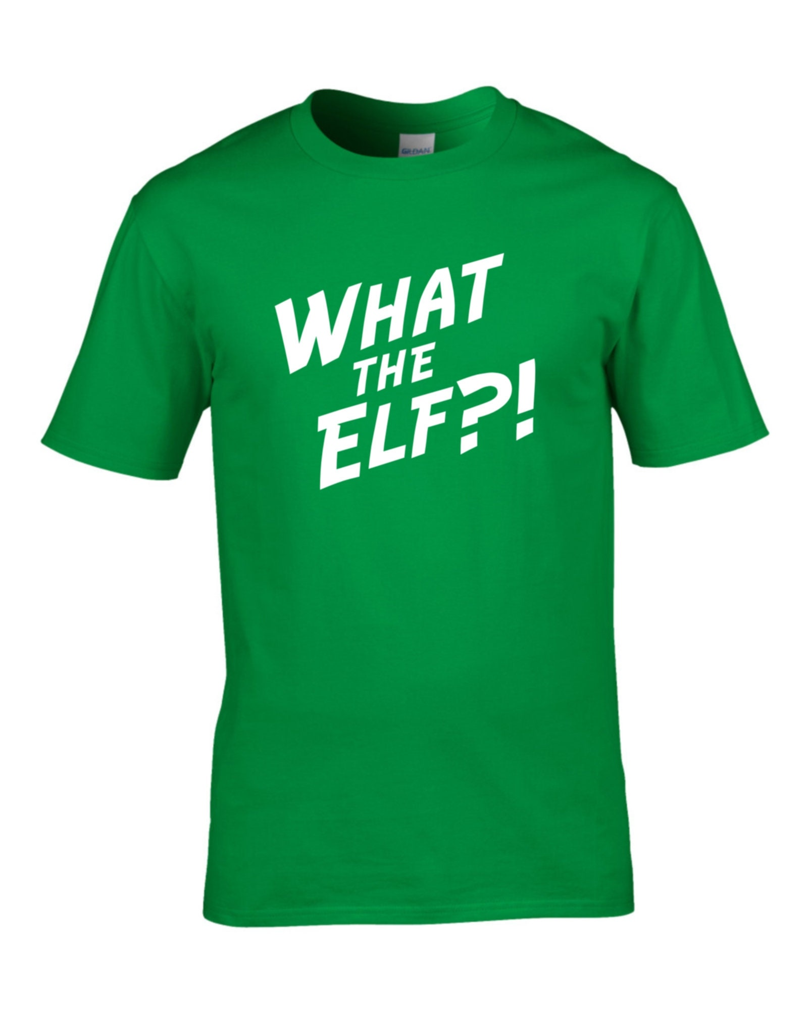 Men\'s Christmas t-shirts, What the Elf t shirt, Funny Christmas t ...